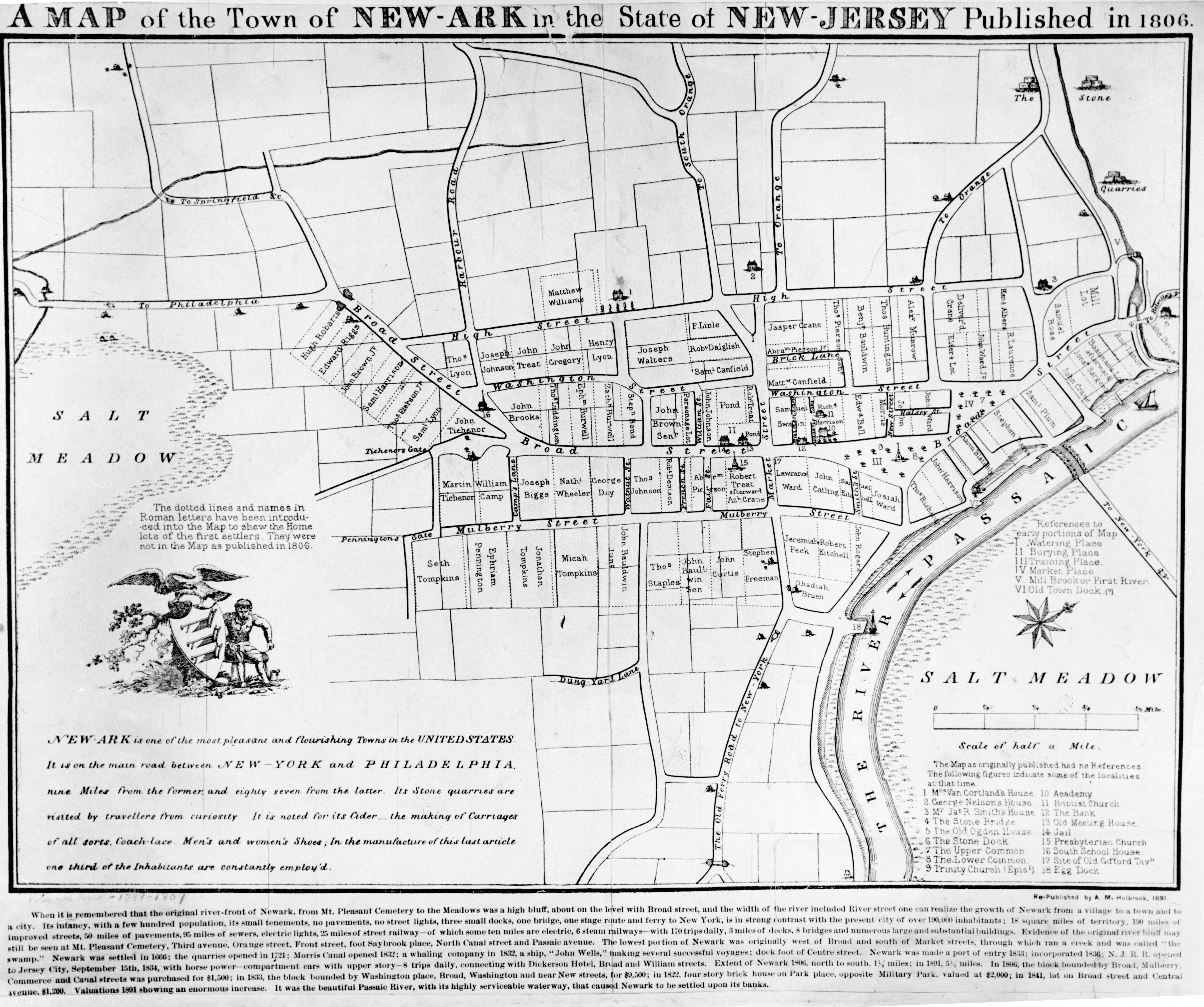 Newark Founded